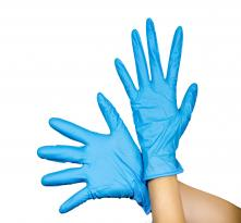 Nitrile Gloves (Blue - Food Grade)
